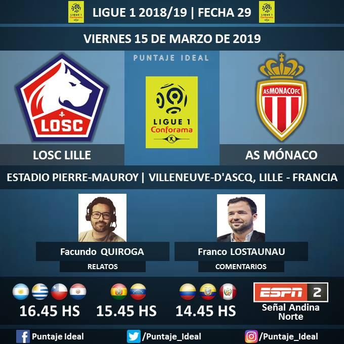 Puntaje Ideal's photo on #Ligue1xESPN
