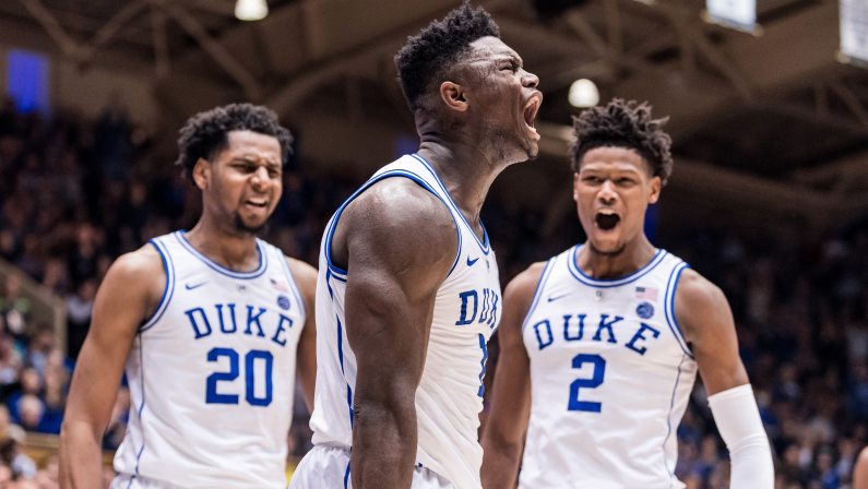 Zion is ready for March Madness‼️ Are you⁉️ #five #fivemag #basketballmag #basketballforlife #duke #zion #ncaa #dukevscuse #cuse #marchmadness #kickzmadness #hype #weekend
