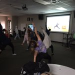 Image for the Tweet beginning: Transcendentalism Yoga in Mr. Burle's
