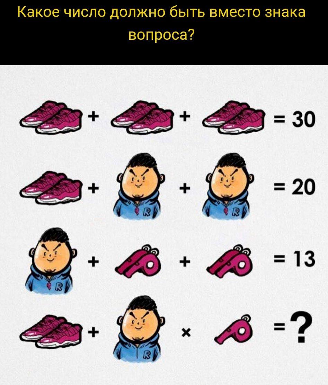 Китайские задачки в картинках
