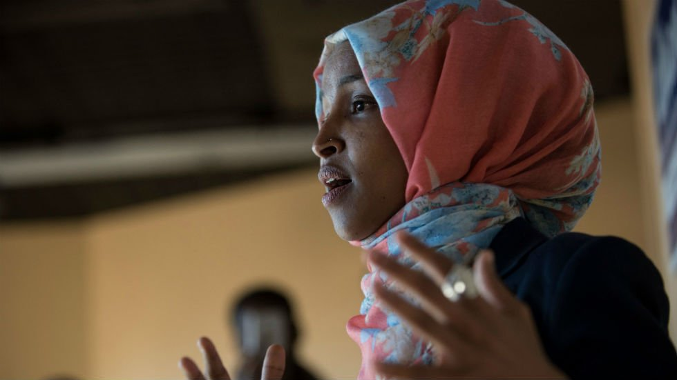 "Ilhan Omar shares Muslim verse after New Zealand mosque shootings: 'We must not live in fear"" http://hill.cm/3yCVjci"