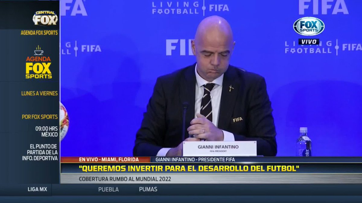 FOX Sports MX's photo on Gianni Infantino