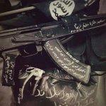 Les réactions aux attaques terroristes de #Christchurch #NouvelleZelande sur les comptes jihadistes se multiplient, deux ex. avec un design copié sur celui de l'arme de l'assaillant // reactions on #ChristchurchAttack #NewZealandShootings are multipliying on jihadi outlets