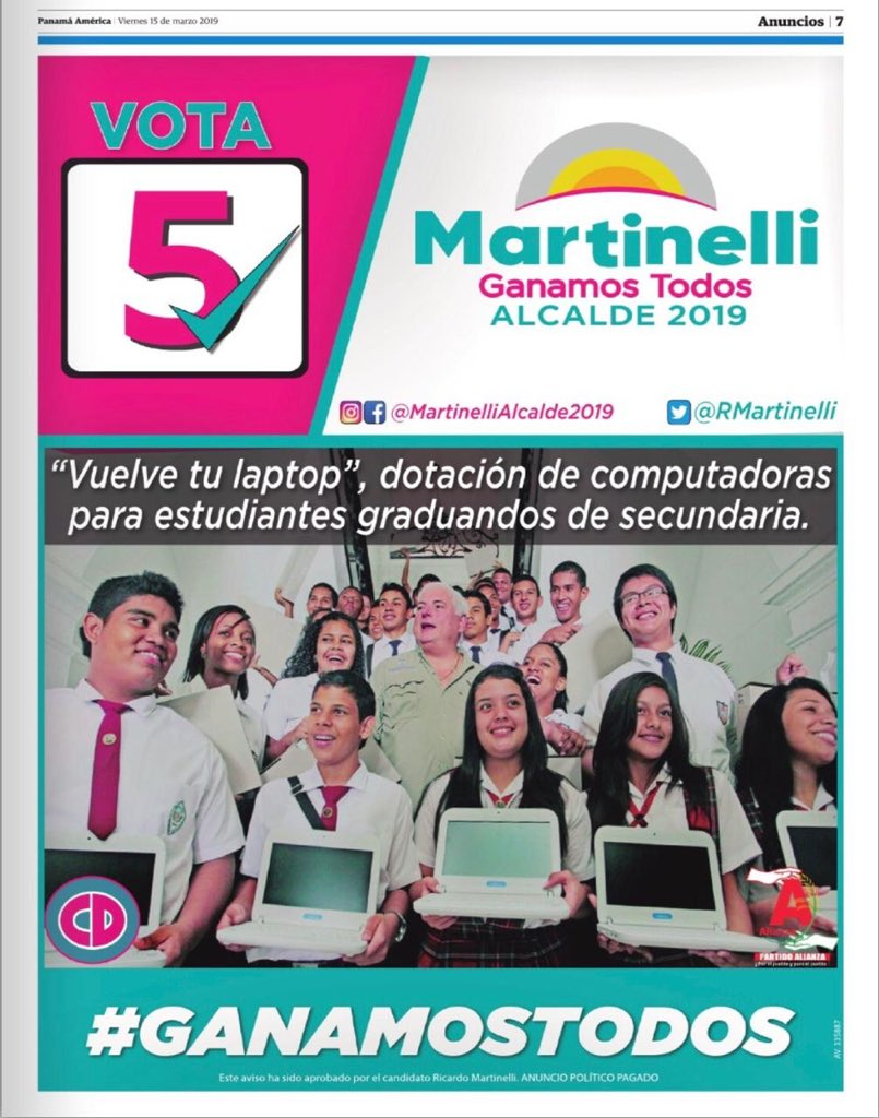 Prensa Martinelli's photo on Martinelli