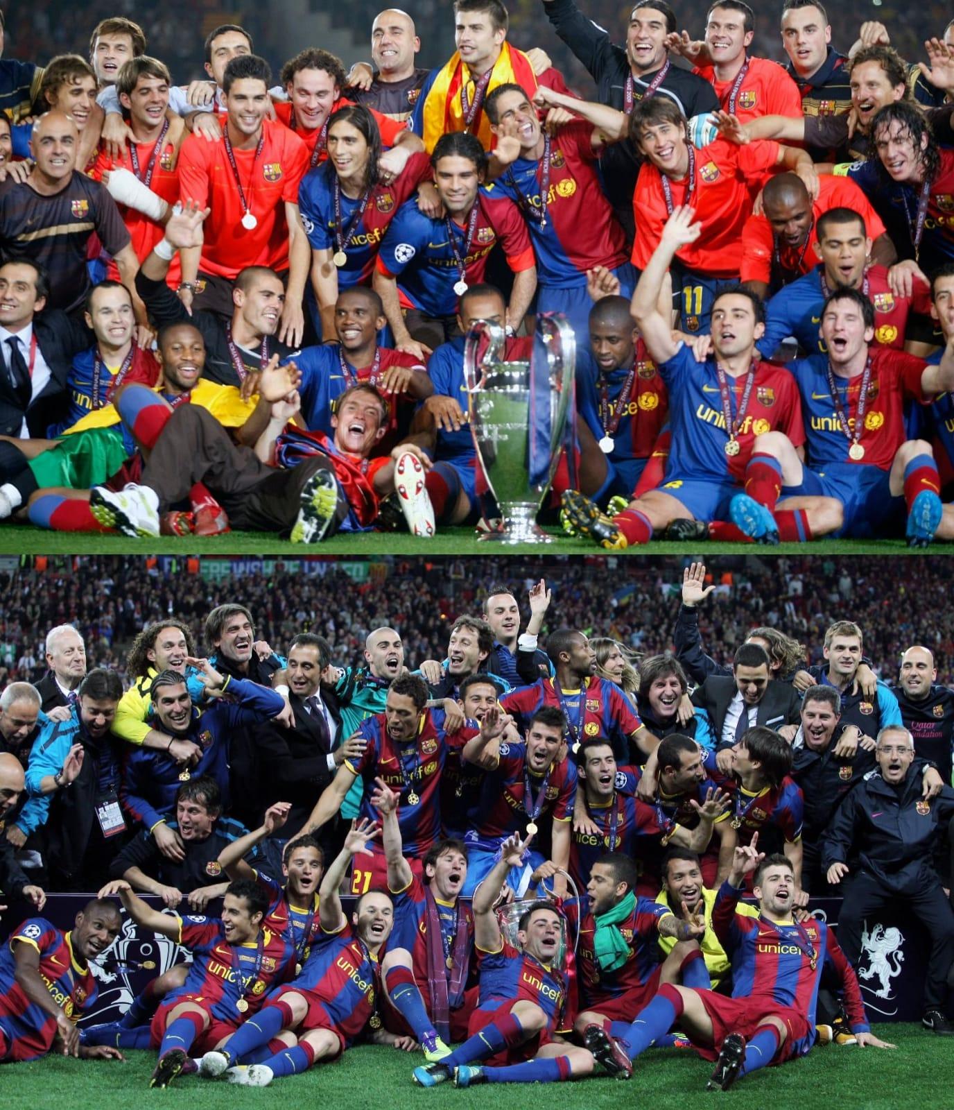 Two different @ChampionsLeague finals... same happy ending!�� https://t.co/sSQtUcVyE8