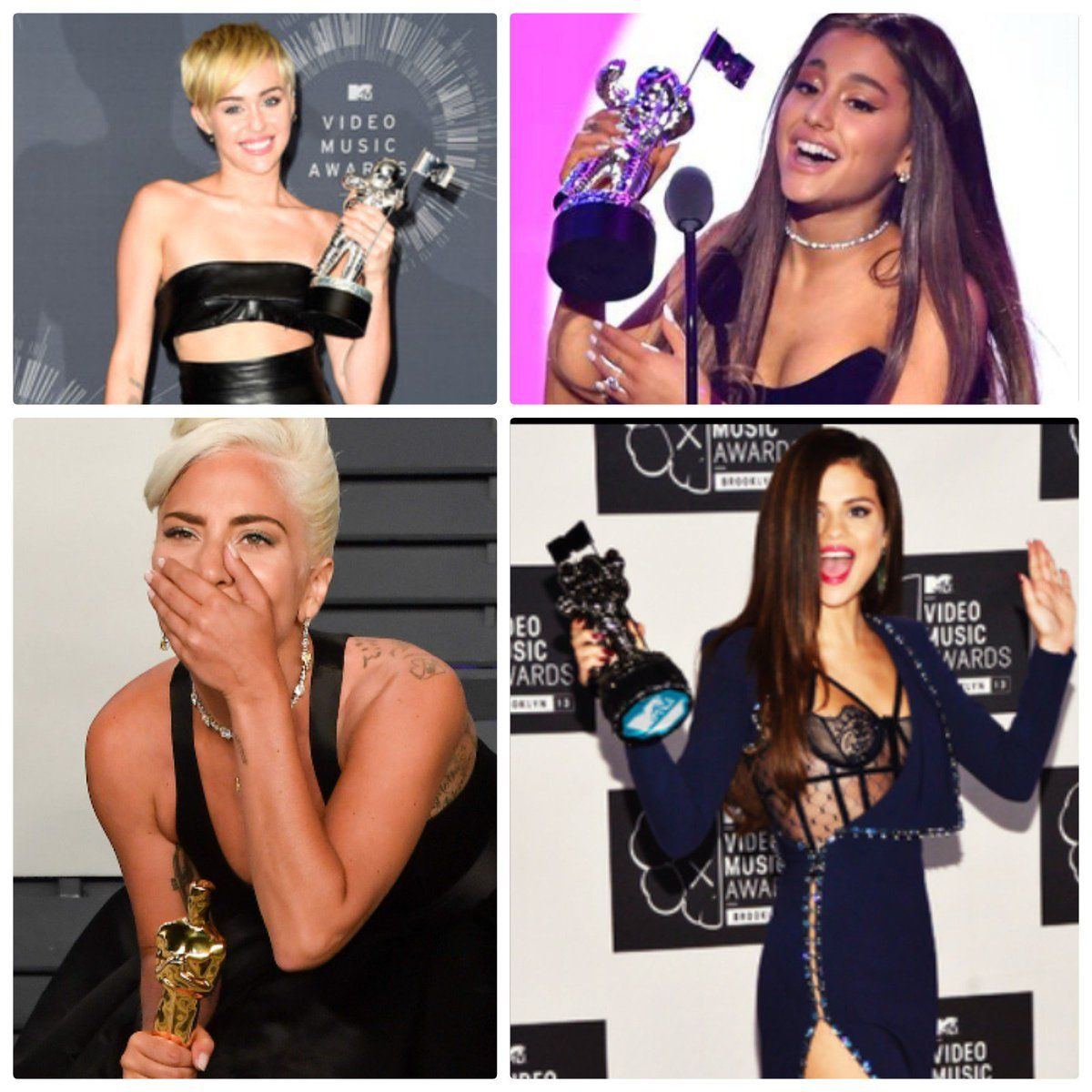 Selena Gomez. Lady Gaga. Ariana Grande. Miley Cyrus. Taylor Swift. Demi Lovato. Katy Perry.  Being a woman in the industry is extremely difficult. Let's support women. 🙏🏼❤️  @selenagomez @ladygaga @ArianaGrande @MileyCyrus @ddlovato @taylorswift13 @katyperry