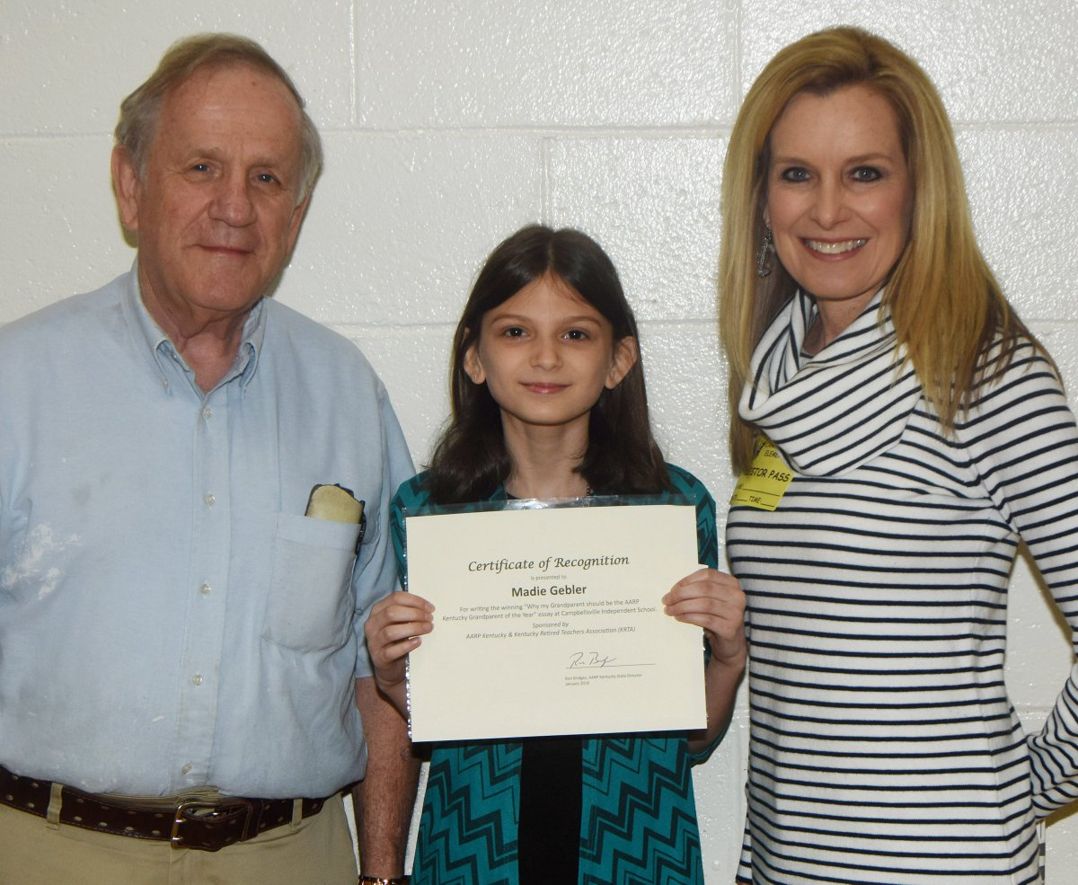 aarp kentucky grandparent of the year essay contest
