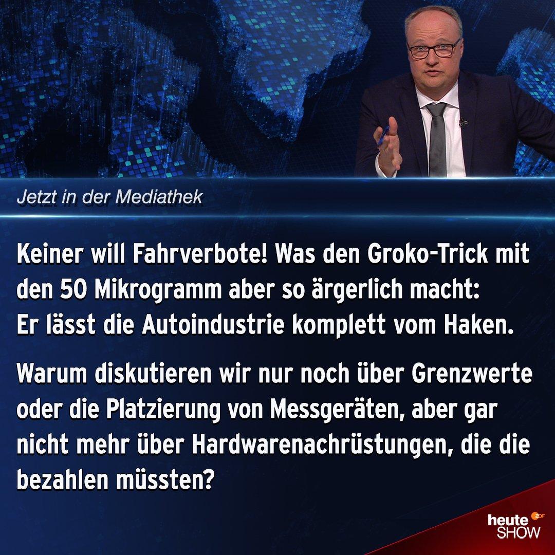 ZDF heute-show's photo on #heuteshow