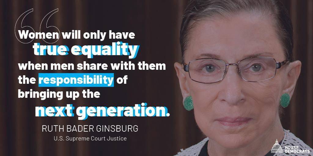 House Democrats's photo on #NotoriousRBG