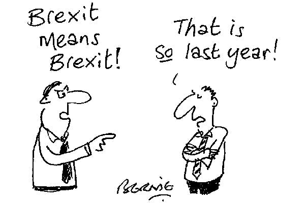 Because Brexit is so last year #Article50Excuses #TheLastLeg<br>http://pic.twitter.com/i2BCe7ROUP
