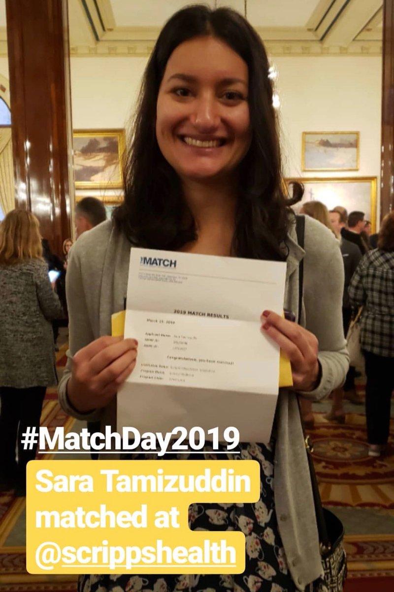 Scripps Health's photo on #MatchDay2019