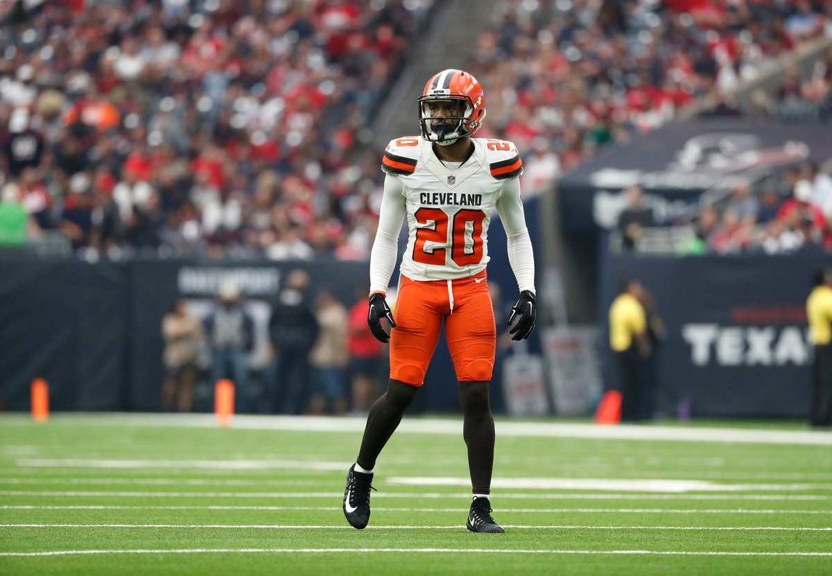 1c18c045a The Houston #Texans signed free agent CB Briean Boddy-Calhoun (@darthBoCa).  Boddy-Calhoun, 26, has played in 43 career games (21 starts) with the  Browns ...