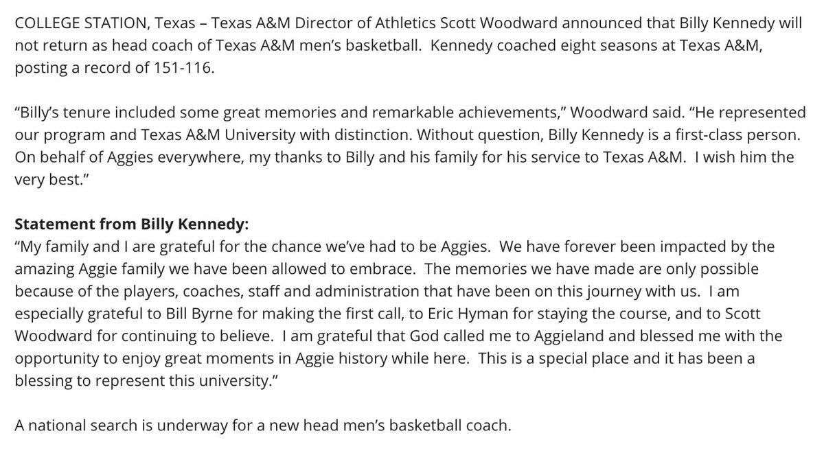 TexAgs's photo on Billy Kennedy