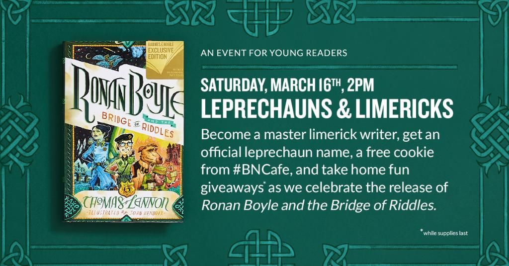 B&N Millbury's photo on #StPatricksDay2019