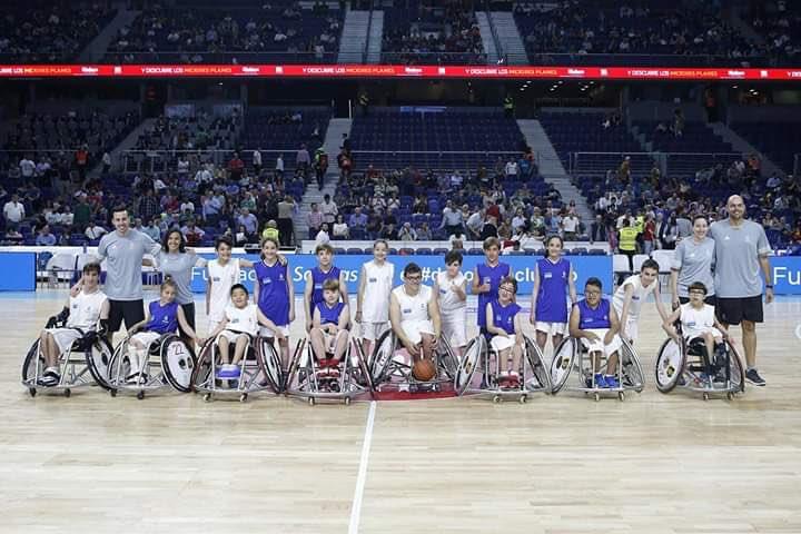¿Aún no sabes qué es el deporte inclusivo? Ven al partido de este domingo y podrás verlo y sentirlo en directo 🙌🏻
