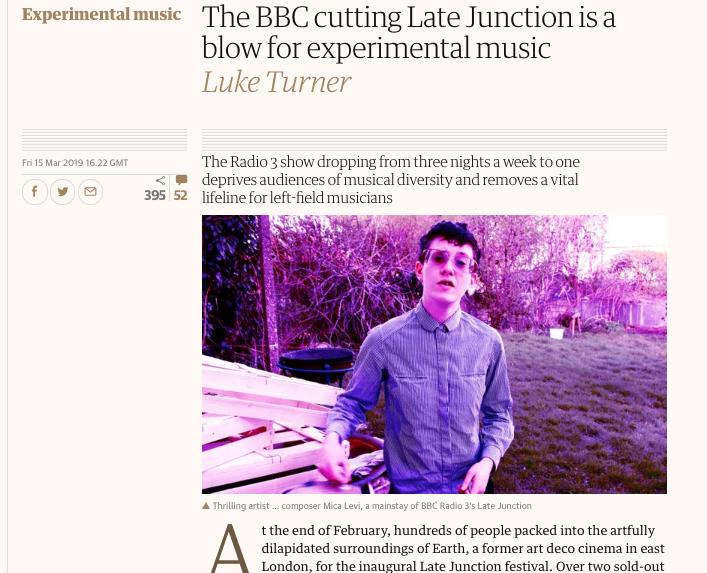 The Quietus's photo on Late Junction