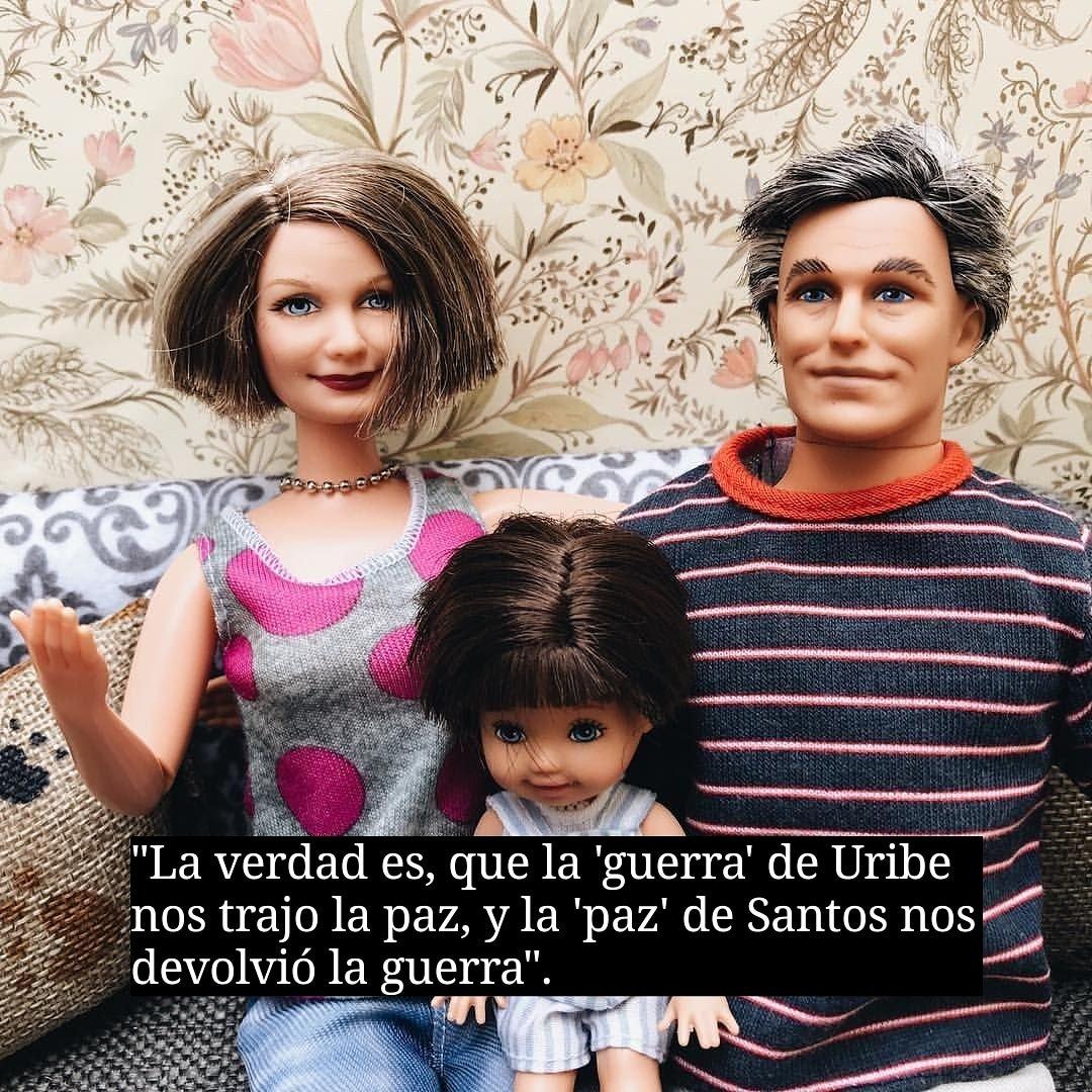 Barbie Y Ken Colombianos De bien OFICIAL's photo on #EnLaWObjecionesBuenasOmalas