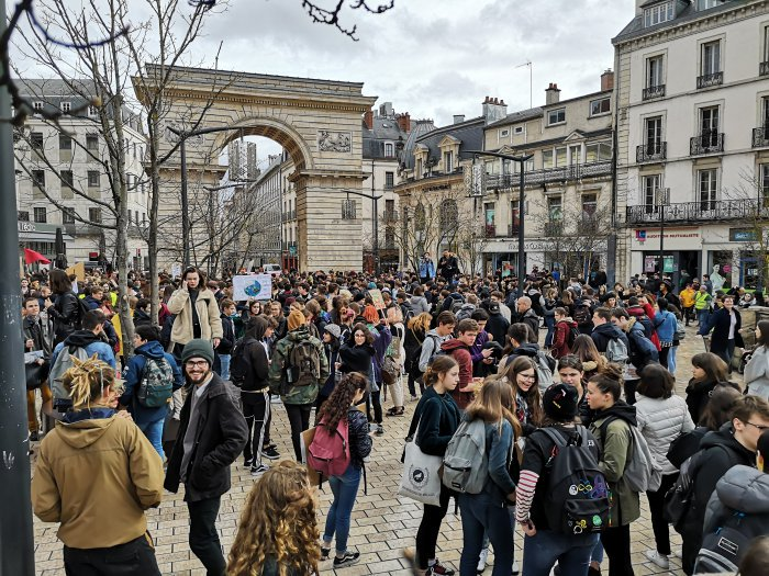 Youth for Climate - Dijon's photo on #GreveMondialePourLeClimat