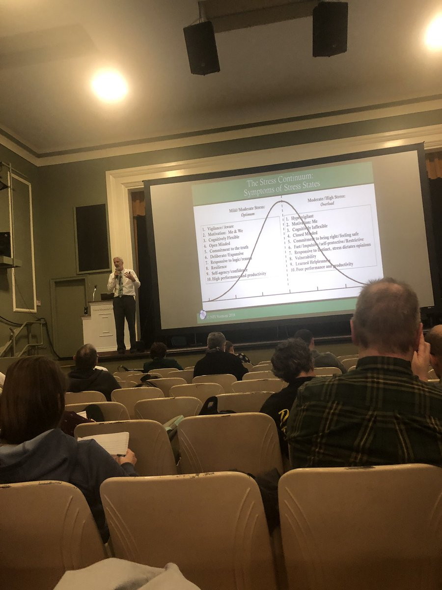 Discussing the continuum of stress with David Melnick @ProctorSchool #GRCSU <br>http://pic.twitter.com/1Sr4vI9wBY