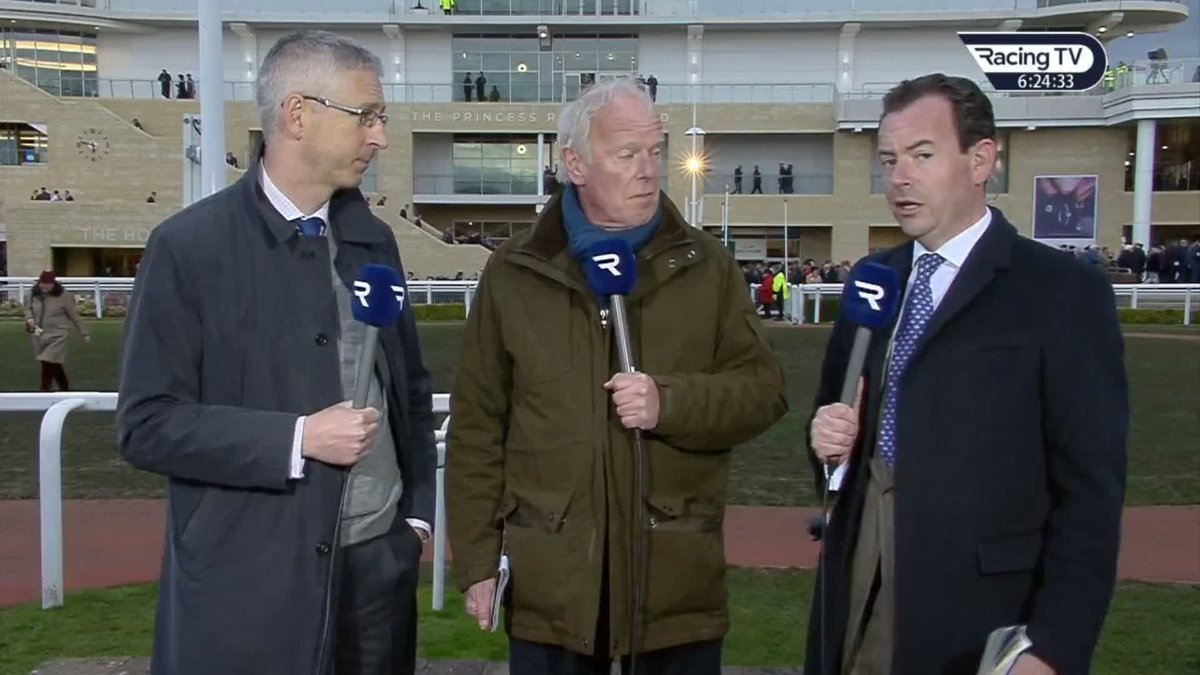 Racing TV's photo on Willie Mullins