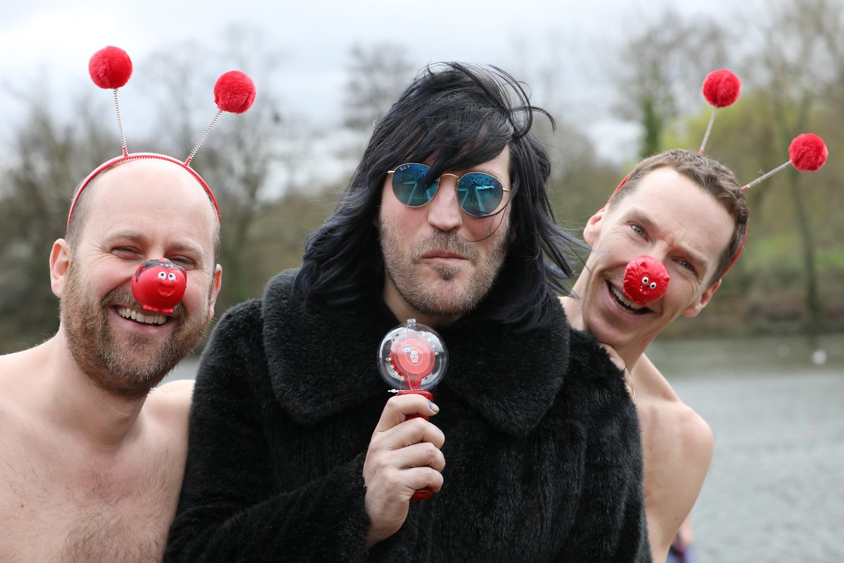 Comic Relief: Red Nose Day's photo on Red Nose Day