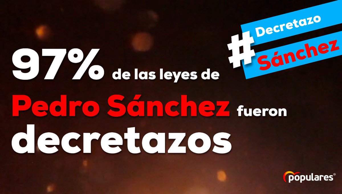 PP Coria del Rio 🇪🇸's photo on #DecretazoSánchez