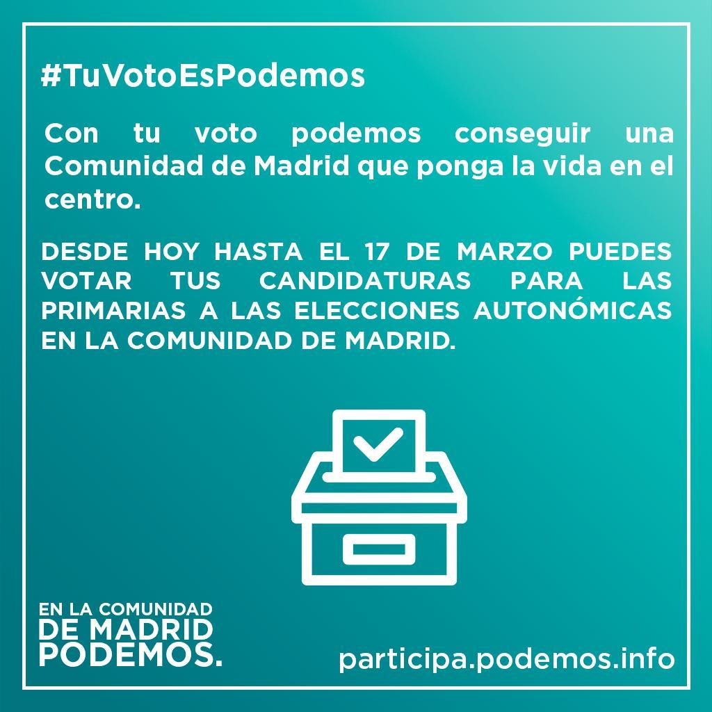 Nereapg's photo on #TuVotoEsPodemos