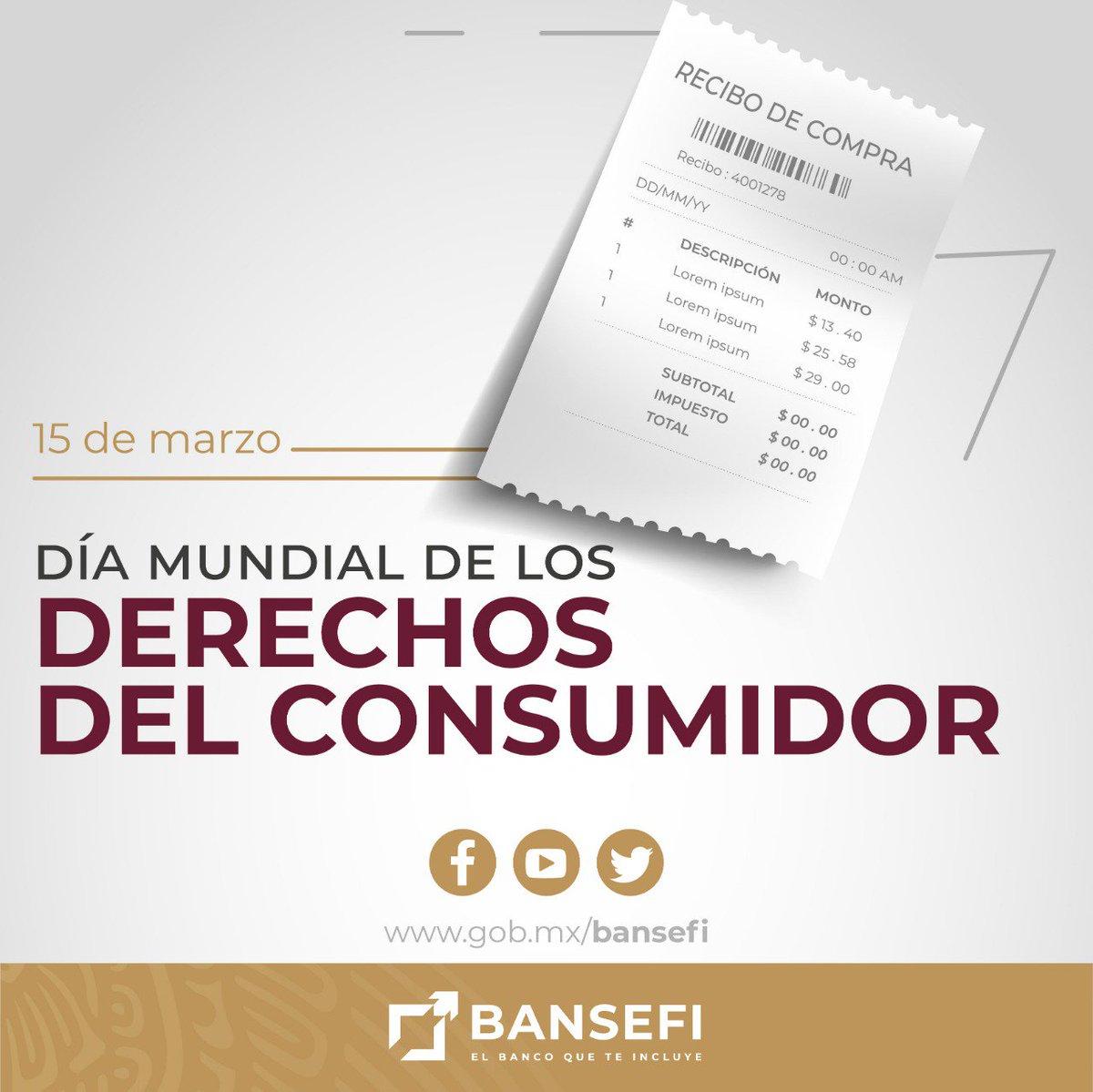 BANSEFI's photo on Derechos del Consumidor