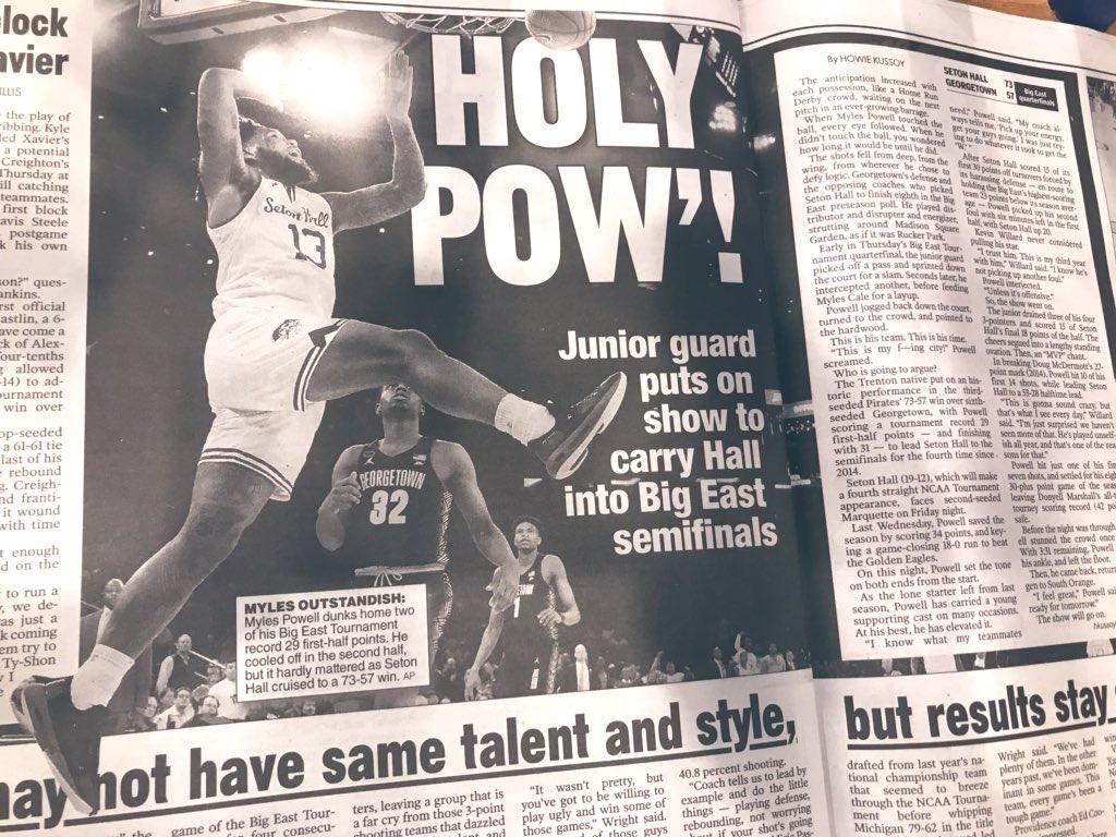 Seton Hall Basketball's photo on #HALLin