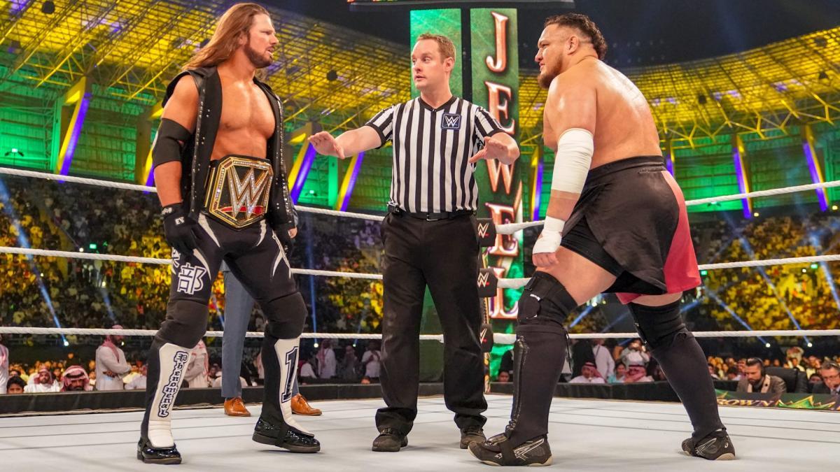 GiveMeSport - WWE's photo on AJ Styles
