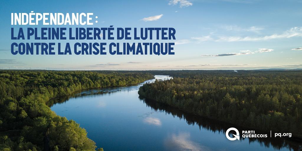 Parti Québécois's photo on #MarchePourLeClimat