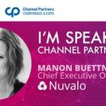 Image for the Tweet beginning: Cloud Girls' Manon Buettner, CEO