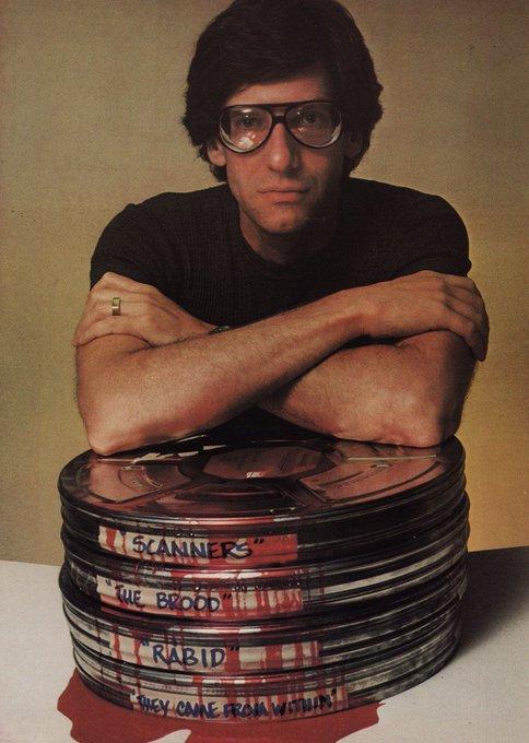 Happy 75th birthday to David Cronenberg!