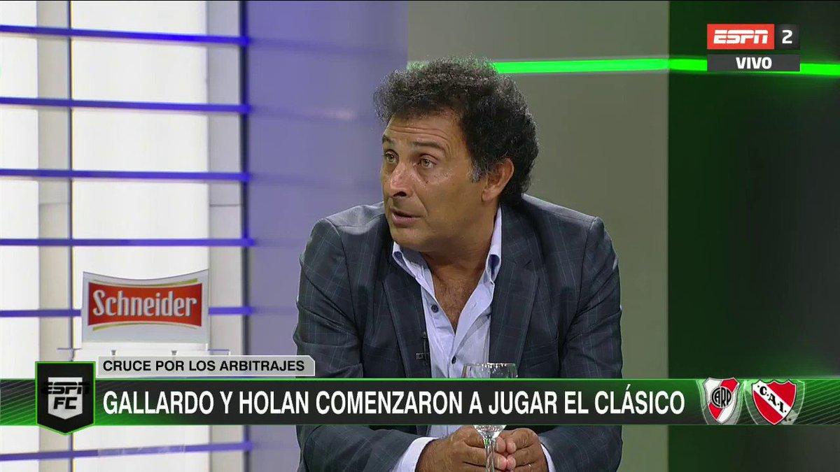 ESPN Fútbol Club Argentina's photo on Holan y Gallardo