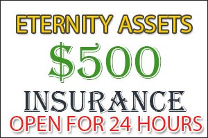 Image for ETERNITY ASSETS Insurance open & Important Updates!