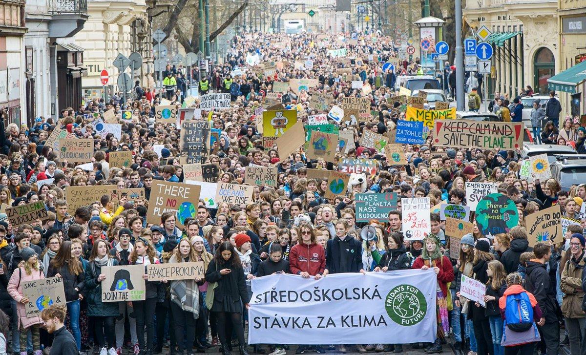 Greta Thunberg's photo on #schoolstrike4climate