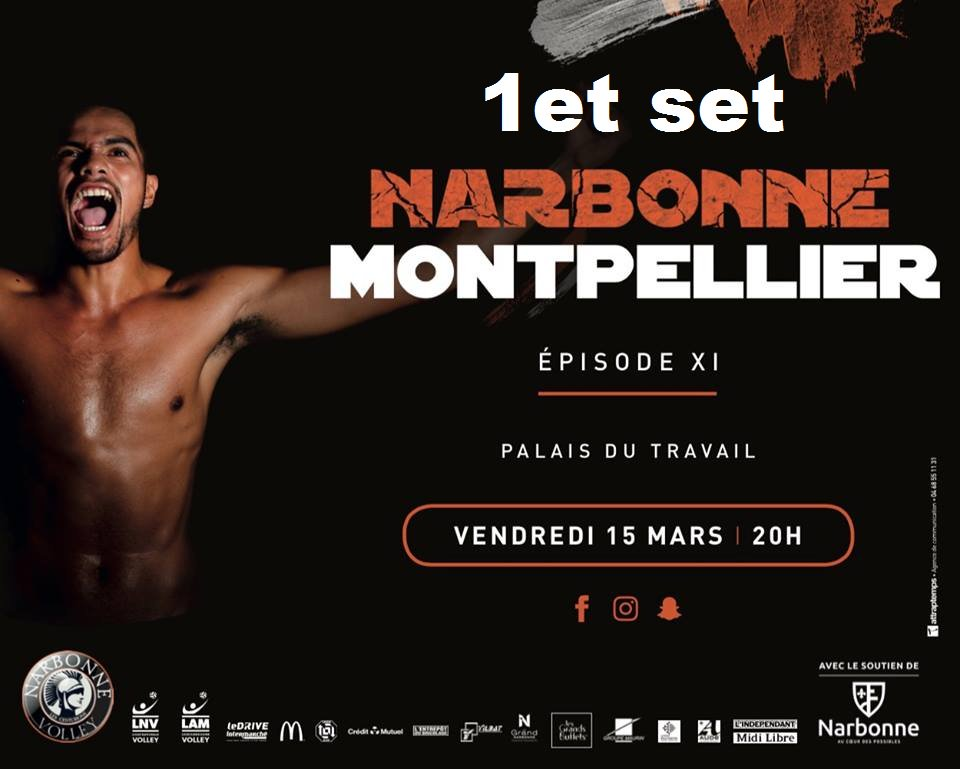 #centurions @LNVofficiel vs @MontpellierVUC   :0-1 (17-25)...