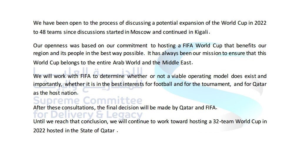 Qatar Football Association 🇶🇦's photo on Qatar 2022