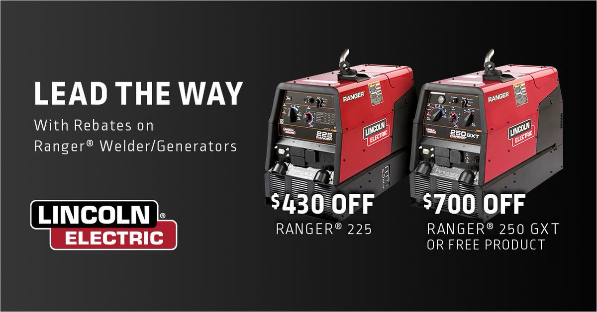 Don T Miss Your Chance Stop By Local Distributor Today Or Visit Http Www Lincolnelectric Save On Rangers Weldred