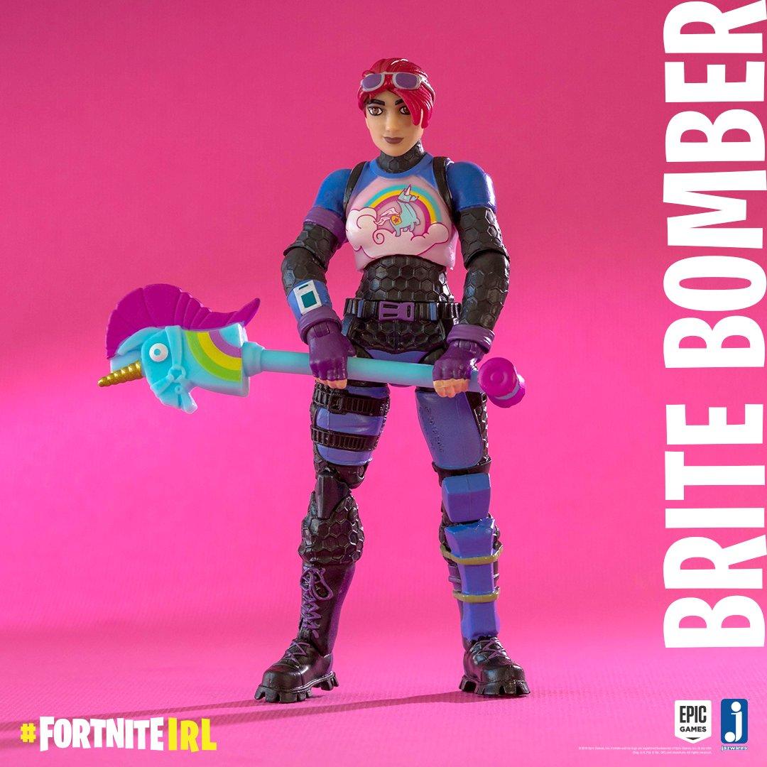 Find Brite Bomber in stores now!  #FortniteIRL  http://Fortnite.Jazwares.com