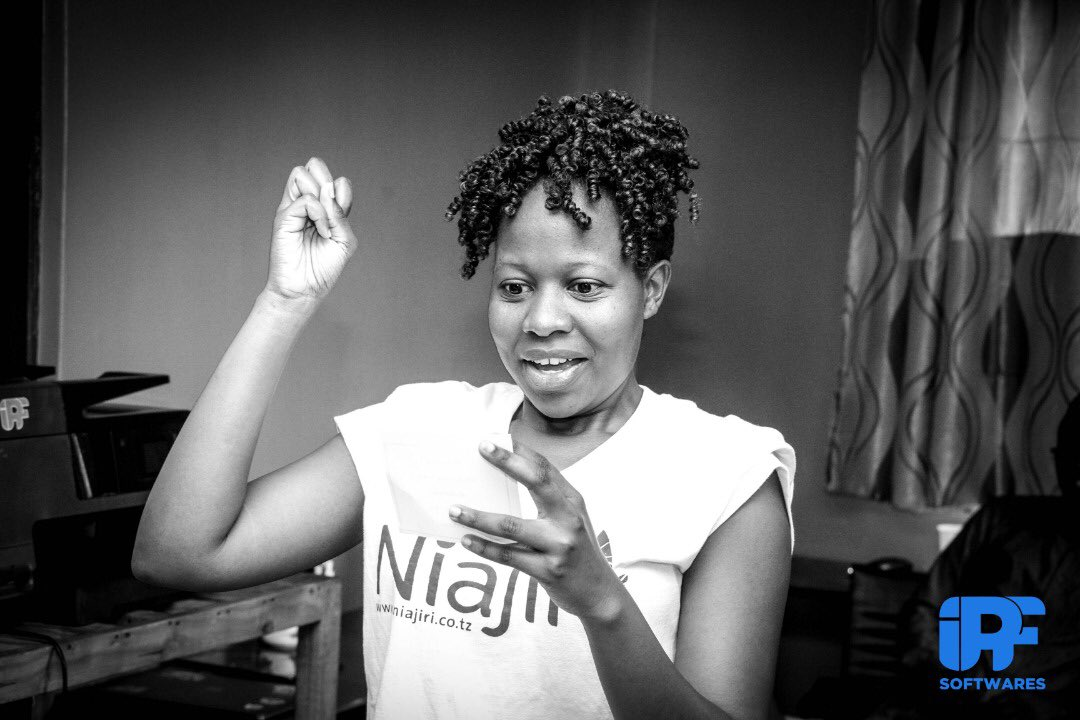 Guest Speaking during Hack It Friday - Lillian Madeje, Niajiri
