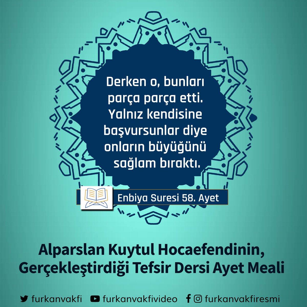 Furkan Vakfı's photo on HaçlıTerörüne ÇareVahdet