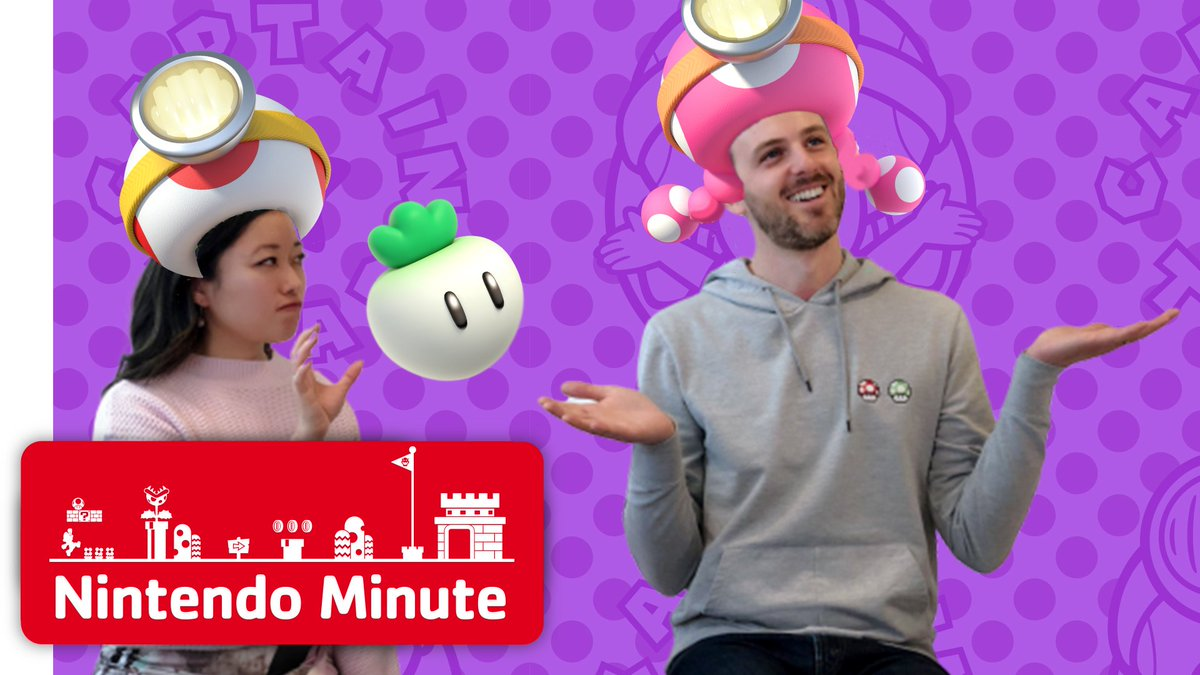 Kit and Krysta test their co-op treasure tracking skills in the newly released #CaptainToad: Treasure Tracker – Special Episode DLC on this week's #NintendoMinute! https://youtu.be/G5Oe-uuyBTY