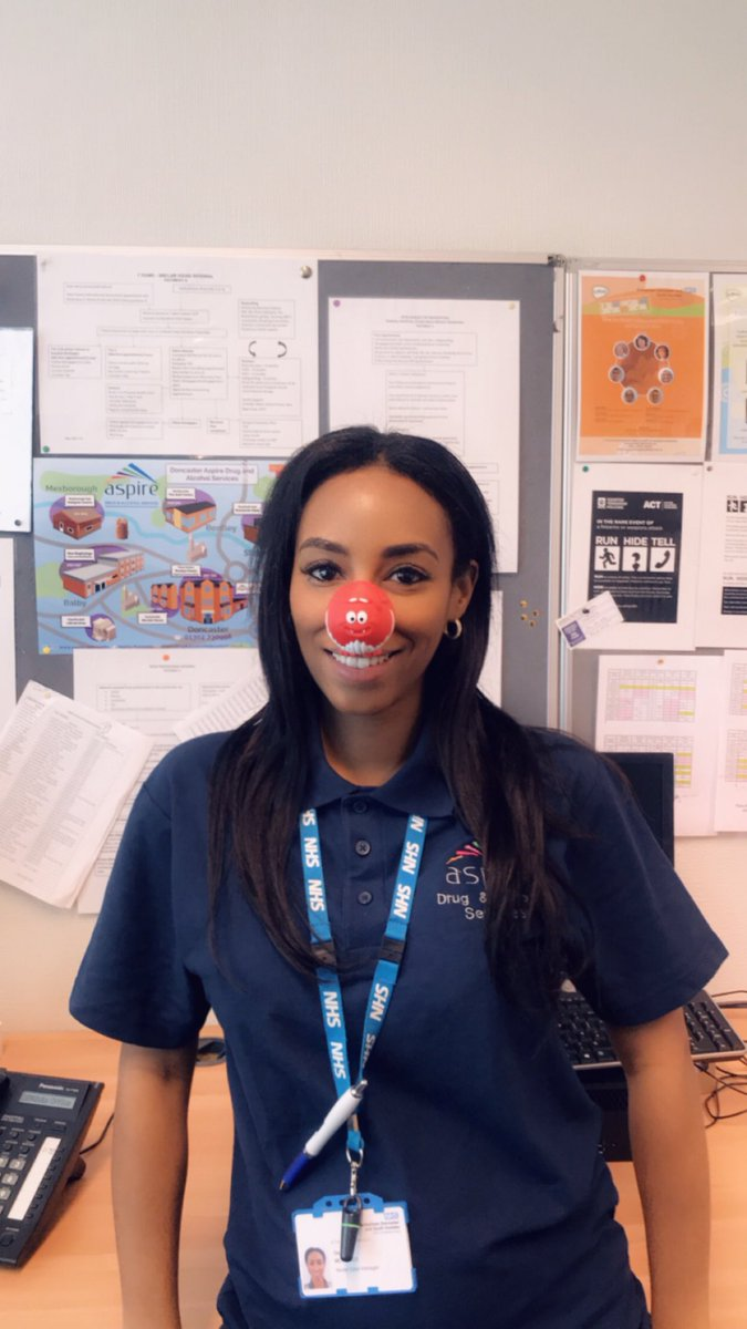 Laura Jarvis's photo on #RedNoseDay2019
