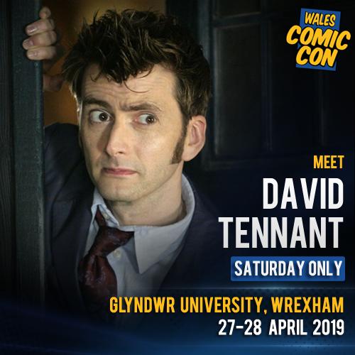 Wales Comic Con's photo on David Tennant