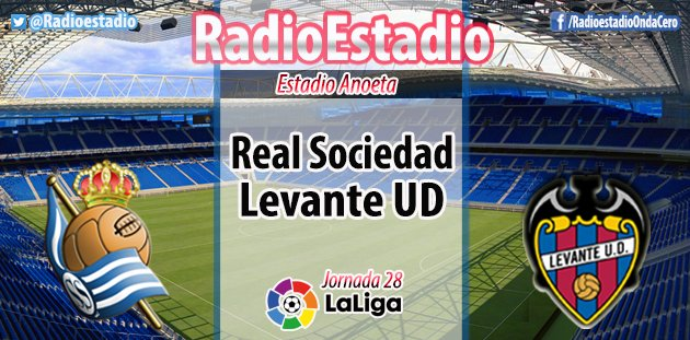 Radioestadio's photo on Real Sociedad - Levante