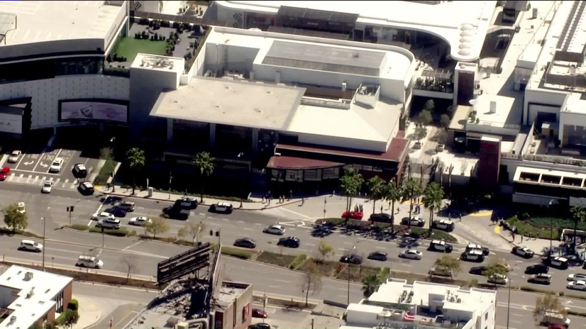 KTLA's photo on Westfield Century City