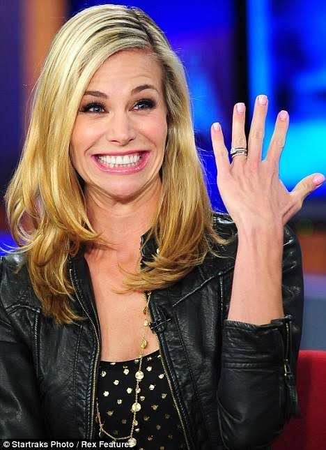 OMG, I am a married woman! Brooke Burns Happy Birthday Beautiful Mam