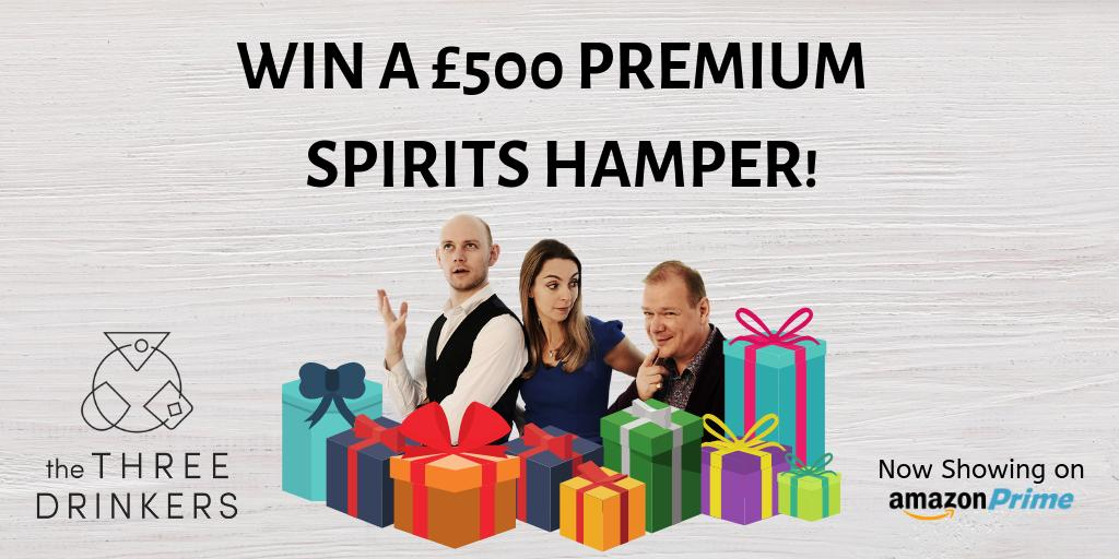 It&#39;s #competition time! You can #win a hamper of luxury spirits worth £500 simply by retweeting, tagging a friend and adding #thethreedrinkers to your post. Winner chosen 31st march. Good luck! #whisky #FridayMotivation #Friyay <br>http://pic.twitter.com/ekel6VqJS1