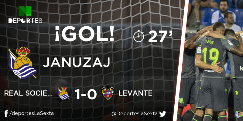 laSexta|Deportes's photo on Real Sociedad - Levante